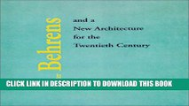[PDF] Peter Behrens and a New Architecture for the Twentieth Century Full Colection