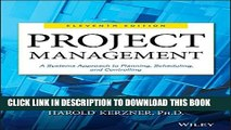 [PDF] Project Management: A Systems Approach to Planning, Scheduling, and Controlling Popular