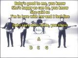 I feel fine Beatles best karaoke instrumental lyrics chords