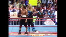 Billy Kidman With Torrie Wilson Challenges Hulk Hogan Nitro 04.24.2000