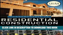 [PDF] Fundamentals of Residential Construction Popular Collection