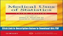 [Read] Medical Uses of Statistics Ebook Free