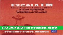 Collection Book Escala LM: potencias a la 50 milesimal/ LM Scale: Potentials of 50 millesimal: Las
