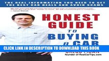 Collection Book Honest Guide to Buying a Car - How to Get the Best Deals and Never Worry About