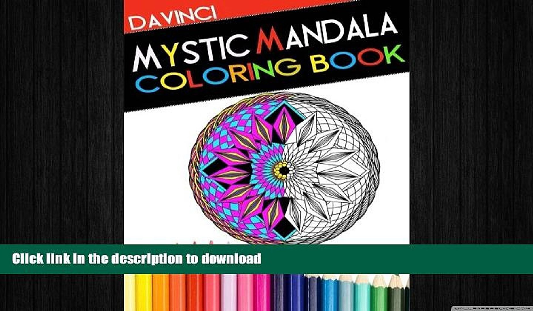 Read Book Mystic Mandala Coloring Book Adult Coloring Book With Therapeutic Designs Patterns