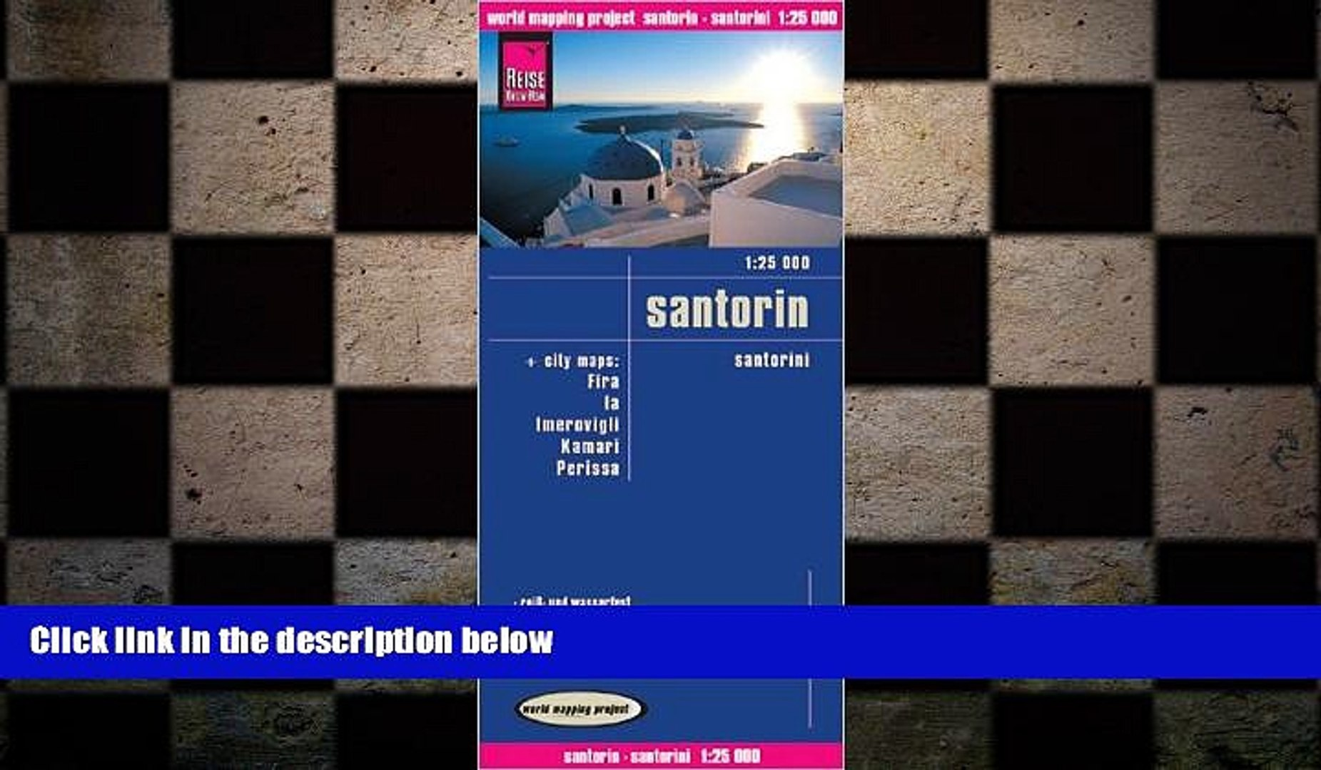 Free Download Santorini Thira Greece 1 25 000 Hiking Map Waterproof Gps Compatible With 5