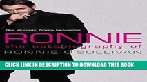 [PDF] Ronnie: The Autobiography of Ronnie O Sullivan Full Colection