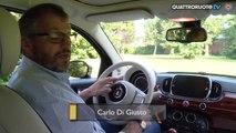 Fiat 500 Riva cabriolet - l'infotainment - Diario di Bordo - Day 5