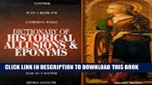 [PDF] Dictionary of Historical Allusions   Eponyms Popular Colection