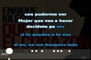 Enrique Iglesias ft. Wisin - Duele el corazon (karaoke)