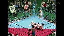 Stan Hansen & Terry Gordy vs. Genichiro Tenryu & Ashura Hara, AJPW Real World Tag League 1987