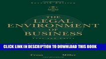 [PDF] The Legal Environment of Business: Text and Cases -- Ethical, Regulatory, Global, and