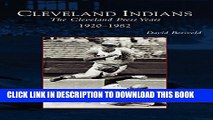 [PDF] Cleveland Indians: The Cleveland Press Years, 1920-1982 Full Online