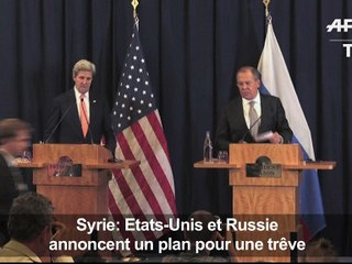Syrie: Américains et Russes s'accordent sur une trêve