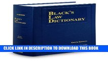 [PDF] Black s Law Dictionary 10th Edition, Hardcover Full Colection