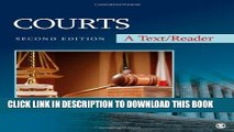 [PDF] Courts: A Text/Reader (SAGE Text/Reader Series in Criminology and Criminal Justice) Popular