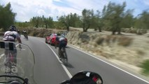 Caída de Rojas / Rojas' fall - Etapa / Stage 20 - La Vuelta a España 2016