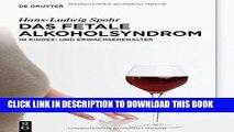 [PDF] Das Fetale Alkoholsyndrom: Im Kindes- Und Erwachsenenalter Full Colection
