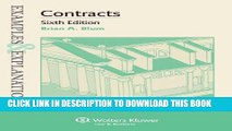 [PDF] Examples   Explanations: Contracts, Sixth Edition Popular Online