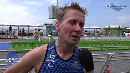 Stéphane Bahier - Triathlon PT2 - 5 ème - Jeux Paralympiques Rio 2016