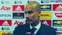 Pep Guardiola Post Match Interview - Manchester United 1-2 Manchester City 10.09.2016 HD