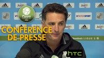 Conférence de presse Amiens SC - Tours FC (3-1) : Christophe PELISSIER (ASC) - Fabien MERCADAL (TOURS) - 2016/2017