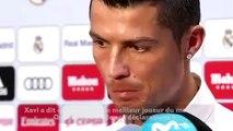 Cristiano Ronaldo dézingue Xavi !