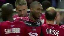 But de Marcus Coco - En Avant De Guingamp 1-1 Montpellier HSC (10/09/2016)