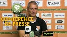 Conférence de presse Stade Lavallois - US Orléans (3-1) : Denis ZANKO (LAVAL) - Olivier FRAPOLLI (USO) - 2016/2017