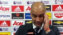 Manchester United vs Manchester City 1-2 ● Pep Guardiola Post Match Interview