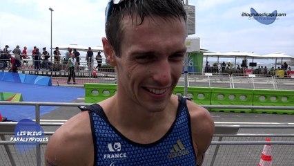 Maxime Maurel - Triathlon PT4 - 8 ème - Jeux Paralympiques Rio 2016