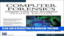 [PDF] Computer Forensics: Computer Crime Scene Investigation (Networking Series) (Charles River