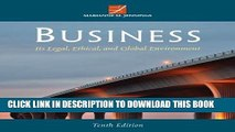 New Book Business: Its Legal, Ethical, and Global Environment