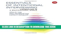 New Book Essentials of Intentional Interviewing: Counseling in a Multicultural World