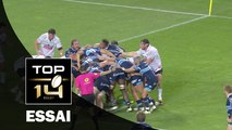 TOP 14 ‐ Essai Marvin O'CONNOR (MHR) – Montpellier-Pau – J4 – Saison 2016/2017