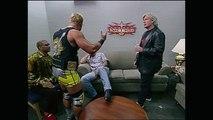 Torrie Wilson & Billy Kidman & Eric Bischoff & Vince Russo & The Cat Backstage Nitro 06.05.2000