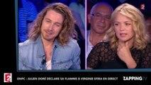 ONPC : Julien Doré déclare sa flamme à Virginie Efira en direct (vidéo)