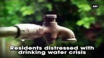 Residents Distressed With Drinking Water Crisis