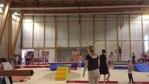 Portes ouvertes de l'USF Gym au nouveau gymnase du Petit Versailles