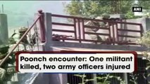 Poonch Encounter: One Militant Killed, Two Army Officers Injured