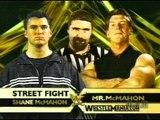 WWE Wrestlemania 17 Shane Mc Mahon Vs Vince Mc Mahon Street Fight
