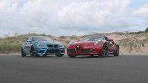 Shootout: BMW M2 vs. Alfa Romeo 4C Spider