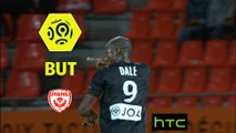 But Junior DALE (88ème) / FC Lorient - AS Nancy Lorraine - (0-2) - (FCL-ASNL) / 2016-17