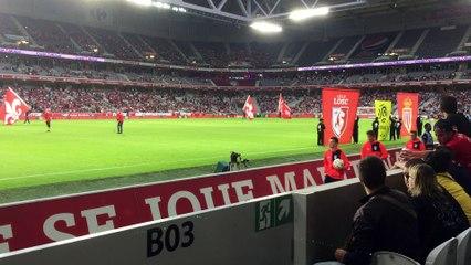 2016-09 : les U17-U16 ramasseurs de balles à Lille Monaco (vidéo 2)