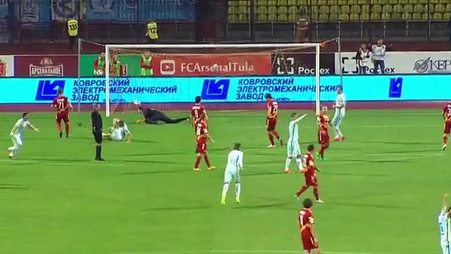 Arsenal Tula vs Zenit 0-5 All Goals & Highlights (Russian Premier League) 11.09.2016 HD