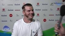 Florian Merrien - Médaille de bronze Tennis de table Class 3 - Jeux Paralympique Rio 2016