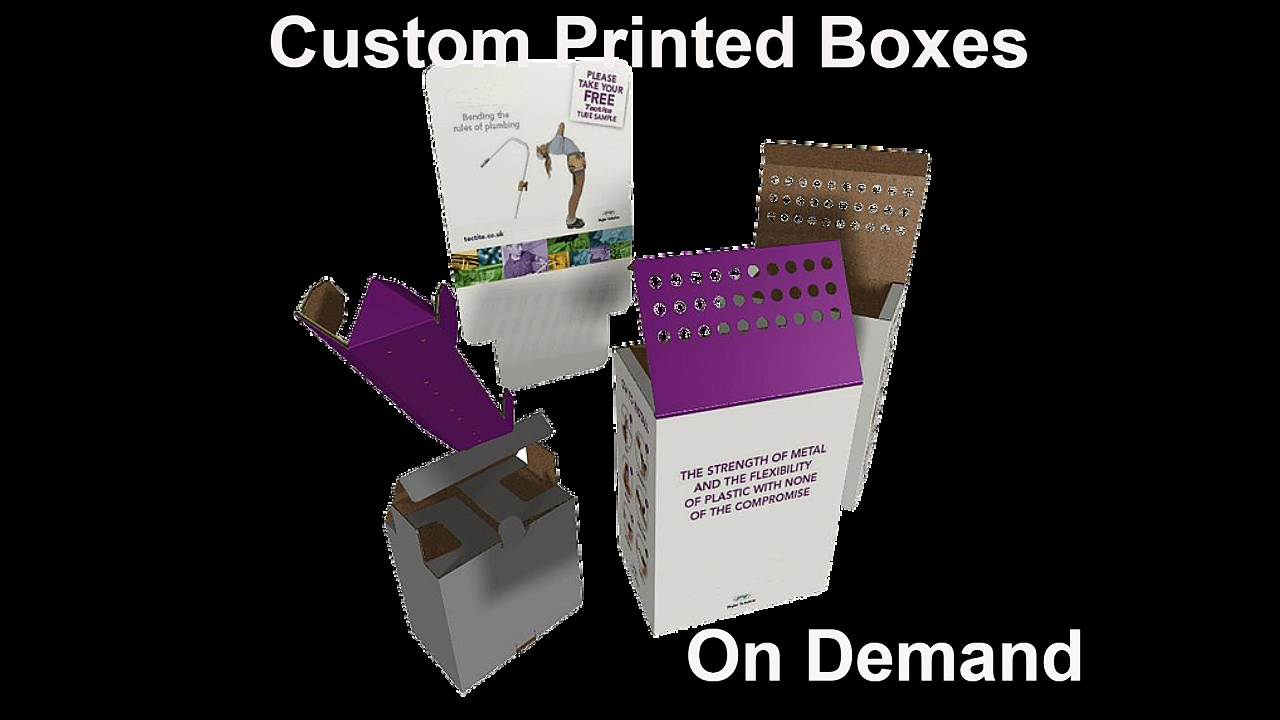Custom printed boxes bradford