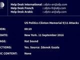Hillary Clinton souffre d'une pneumonie et a fait un malaise
