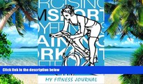 Big Deals  My Fitness Journal: Sports Gym Fitness, 6 x 9, 50 Daily Fitness Logs  Best Seller Books