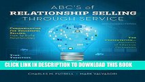 [PDF] ABCs of Relationship Selling Through Service Popular Collection